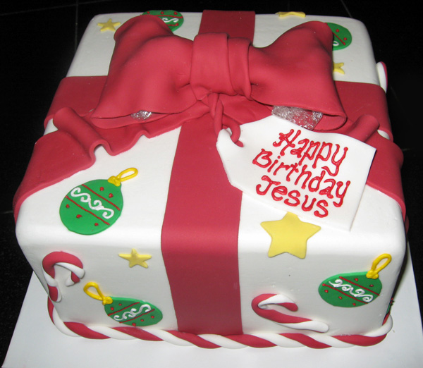 It S All About The Cake Holiday Cakes A Custom Cake