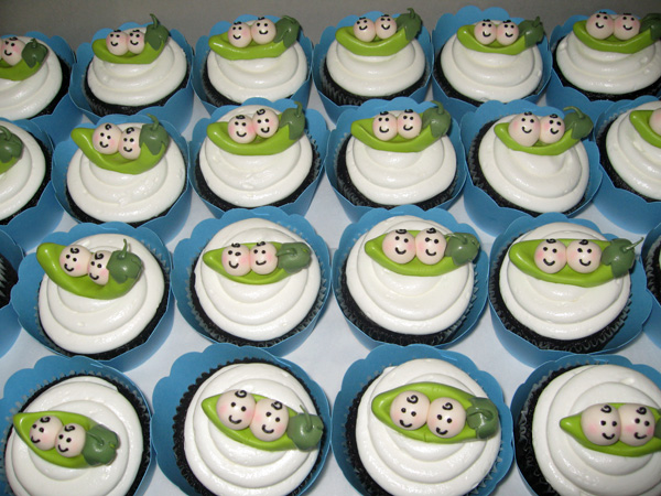Its All About The Cake Baby Shower Cupcakes A Custom Cupcake